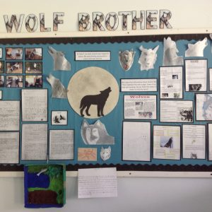 Wolf Brother Display